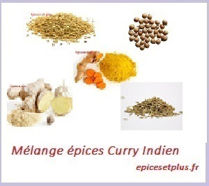 Curry indien doux